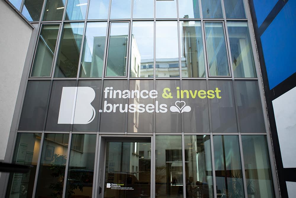 Finance Brussels - Façade face