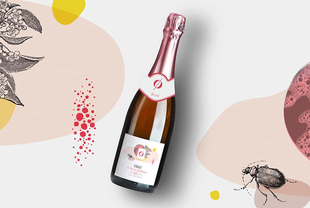 Vinao champagne rosé - Solutions iD