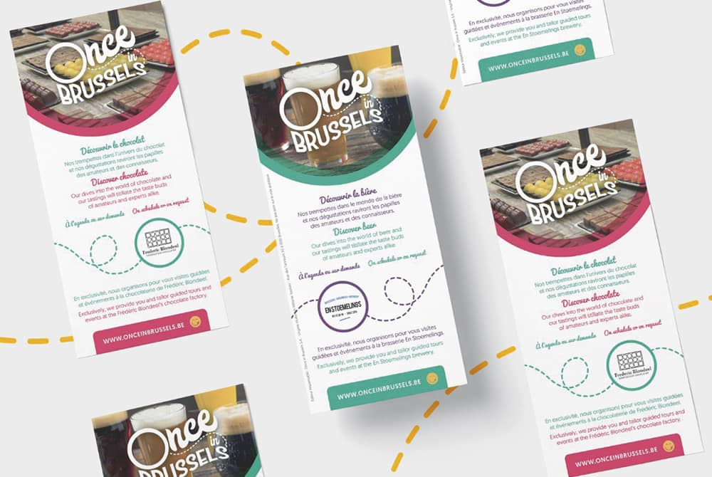 Once Brussels - Flyers