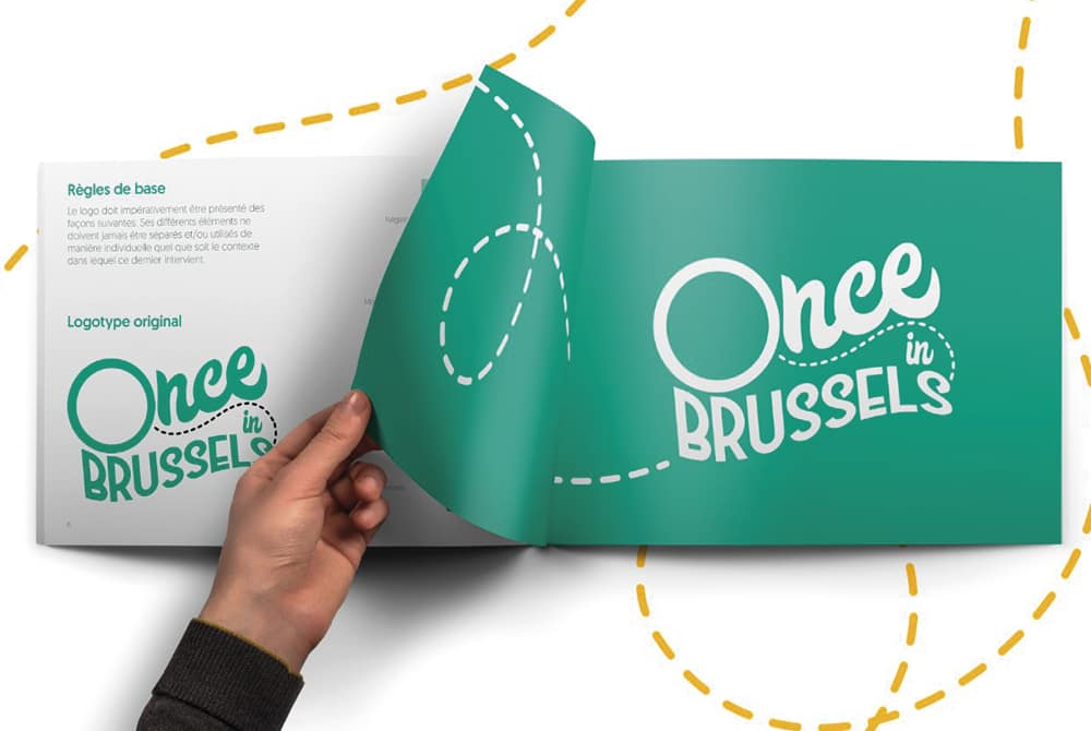Once Brussels - Mockup intérieur
