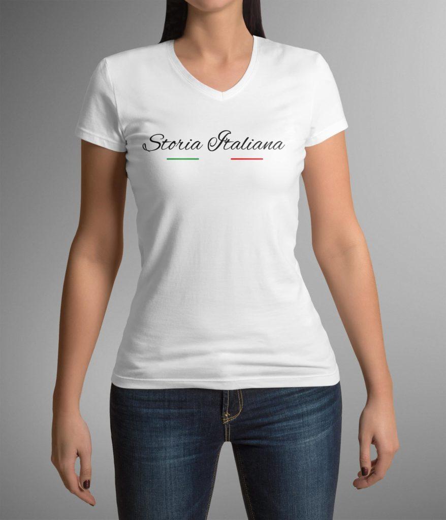 Storia Italiana - T-shirt vue de face